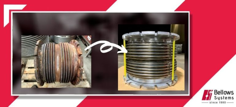 Exhaust compensator for a LPG Tanker