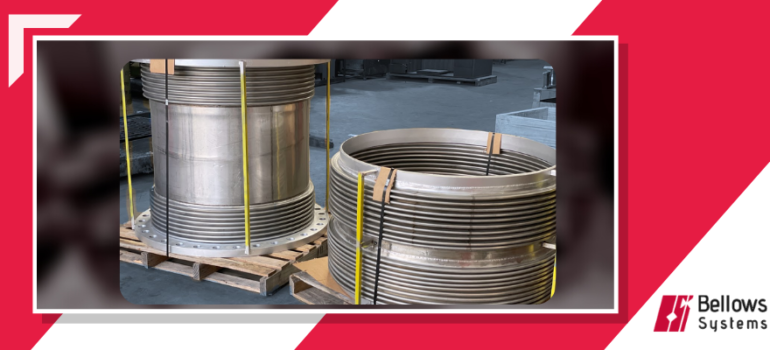 Dual Bellows type universal expansion joints