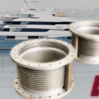 MTU 16v4000 Exhaust Bellows supplied for a Luxury Mega Yacht